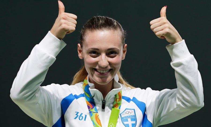Коршунова стала финалисткой Игр встрельбе изпистолета